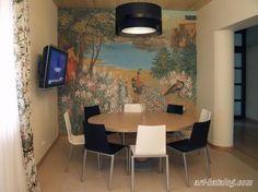 Роспись стен. Кухня. -mural