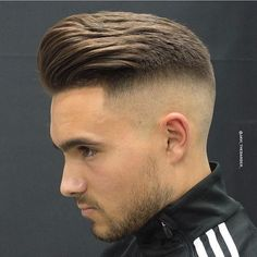 This is Awesome! Got this from Go check em Out Check Out for 57 Ways to Build a Strong Barber Clientele! Copy Hashtags Show 30 Hashtags Mens Hairstyles With Beard, Undercut Hairstyles, Hair And Beard Styles, Short Hair Styles, Modern Pompadour, Pompadour Men, Cool Haircuts, Haircuts For Men, Teenage Boy Hairstyles
