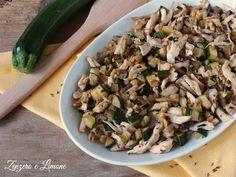 insalata pollo zucchine