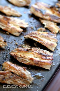 Grilling Recipes, Seafood Recipes, Cooking Recipes, Food In French, Tapas, Grilled Sardines, Bbq Marinade, Teppanyaki, Street Food