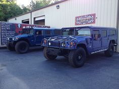 Quarter Mile Muscle Inc. Restores Hummers. We also do Custom Automotive Painting.