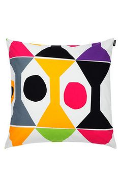 Cocktail pillow sham in off