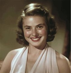 Ingrid Bergman. lovely.