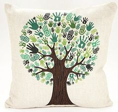 Caryko Home Decor Beige Cotton Blend Linen Square Decorative Throw Pillow Covers (Tree-Palm) Caryko http://www.amazon.com/dp/B00ZCYO3Y8/ref=cm_sw_r_pi_dp_B4REvb08VMKY0