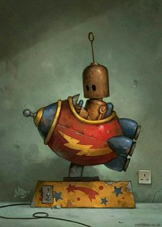 Robot juguetón