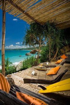 Lounging in Bali - my dream