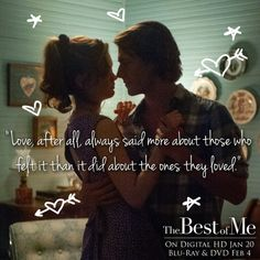 Mark your calendars, Nicholas Sparks fans -- #TheBestofMe arrives on digital January 20th and Blu-ray/DVD February 4th!