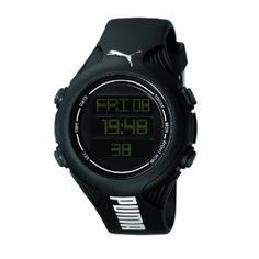 Puma - PU910781002 - Men watch - Quartz Digital - Black Dial - Black Rubber Strap.Very elegant and sporty.You could wear it with casual or official suits and seduce all :)