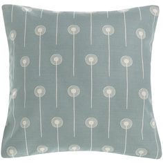 Dandelion Two cushion covers - Angie Lewin Angie Lewin, Nj Beaches, Mid-century Interior, Construction Design, Fabric Textures, New Room, Soft Furnishings, Cushion Covers, Printing On Fabric