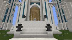 Minecraft World of Raar -SPOTLIGHT- Sky Castle Minecraft building ideas and structures