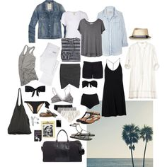 """Packing for the Beach"" by coffeestainedcashmere on Polyvore"