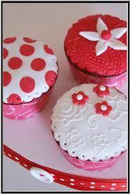 cupcakes con fondant - Buscar con Google