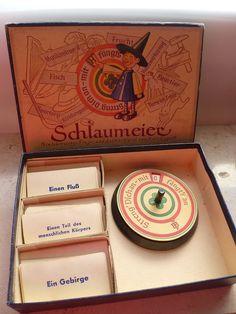 Schlaumeier - Altes Frage-Antwort-Spiel von 1955