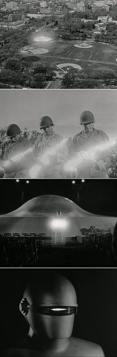 "Scenes from ""The Day the Earth Stood Still"""