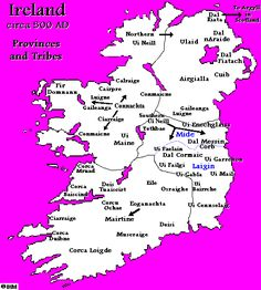 Map Of Ireland 600 Ad.130 Best Irish History In Maps Images In 2017 History Genealogy