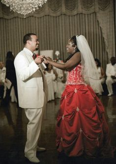 After finding my red wedding dress, I could never have settled for white. Colored Wedding Dress, Wedding Dresses, Wedding Photos, Poses, Clothes, Fashion, Bride Dresses, Marriage Pictures, Figure Poses