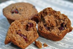 Bran muffins made with real butter. From Weight Watchers. How times have changed!