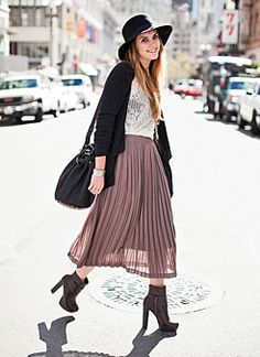 Primark - Blush Pleated Skirt | My Style Pinboard | Pinterest ...