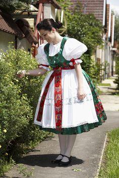 Slovak kroj from town Békéscsaba, Békés County, Hungary.