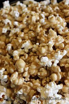 Browned Butter Caramel Popcorn Recipe