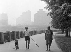 Утренняя прогулка. 6 июня 1981 года. Фото Бориса Кавашкина /Фотохроника ТАСС/