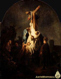 REMBRANDT. 1633. El descendimiento de la cruz