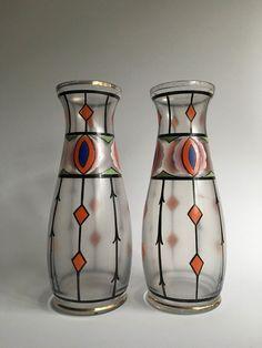 Nu in de #Catawiki veilingen: Stel Art Deco vazen
