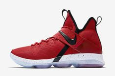 Release Date: Nike LeBron 14 Red Brick Road