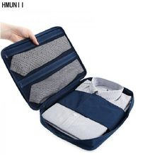 Fashion Travel Garment Tie Folder Bag Business Packing Organizers Business Travel Accessories Travel Organizer For Shirt Pants