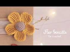 How To Crochet 5 Petal Flowers In Minutes? It's very simple all you want to do is to watch the step by step guided video tutorial. Crochet Motifs, Crochet Blocks, Crochet Flower Patterns, Crochet Flowers, Floral Embroidery, Hand Embroidery, Crochet Mignon, Crochet Simple, Rose Tutorial