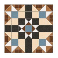 Kolekcja Barnet - płytki podłogowe Dorset Marrón 31,6x31,6