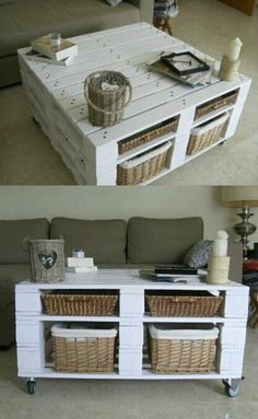 Recicla y decora con palets: 29 ideas imperdibles 2019 Mesa de palets- must do this with my left over pallets for the conservatory! The post Recicla y decora con palets: 29 ideas imperdibles 2019 appeared first on Pallet ideas.