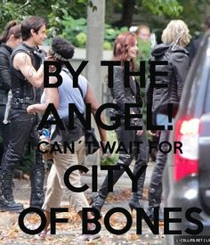 THE MORTAL INSTRUMENTS: City of Bones by Cassandra Clare| By the Angel! Can't wait for City of Bones