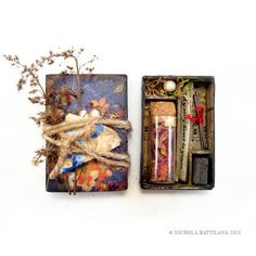 Lovers Memento Matchbox Shrines - PAPER CRAFTS, SCRAPBOOKING & ATCs (ARTIST TRADING CARDS)