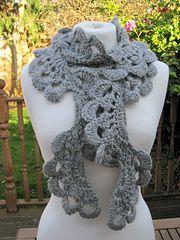 Anesha Crochet Lace Scarf - free pattern