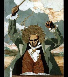 ¿Sabías que Beethoven solía ir por la calle con ropas viejas, con los pelos desordenados, gritando las melodías que se le ocurrían a plena voz (el no podía oírse) y anotándolas en un cuaderno?