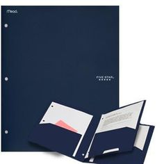 Have a folder to hold all those pesky papers you'll be getting, as well as a copy of your advance directive.