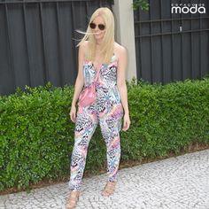Aline Veiga veste Espaço de Moda