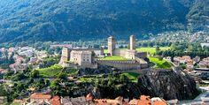 Three Castles, Defensive Wall and Ramparts of the Market-Town of Bellinzona (Bellinzona - Switzerland)