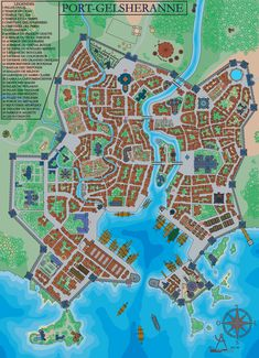 A website and forum for enthusiasts of fantasy maps mapmaking and cartography of all types. We are a thriving community of fantasy map makers that provide tutorials, references, and resources for fellow mapmakers. Fantasy Map Maker, Fantasy City Map, Fantasy Town, Dungeons And Dragons Homebrew, D&d Dungeons And Dragons, Age Of Empires, Village Map, Rpg Map, Dungeon Master's Guide