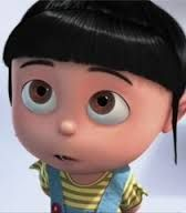 Despicable Me - Agnes make her hair blonde and congratulations you've met piper. Agnes Despicable Me, Despicable Me 2 Minions, Cute Minions, Minions Movie Characters, Disney Characters, Minion Rock, Orphan Girl, Romantic Gif, Snoopy