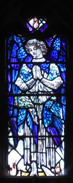 Christopher Whall: South African War Memorial Window, Chapterhouse  Gloucester Cathedral
