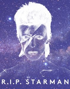 The stars do, indeed, look very different today, Bowie. Safe passage in your return to stardust.