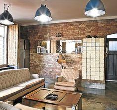 masculine apartment Masculine Apartment, Leroy Merlin, Industrial Design, Man Cave, Diy Home Decor, Conference Room, Loft, Furniture, Ideas
