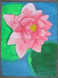 Flower painting by JustCallMeBlazie on DeviantArt
