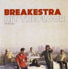 BREAKSTRA - HIT THE FLOOR Ubiquity records LP - 2005