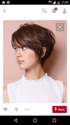 Short Haircuts with Bangs for Women 2017 Awesome 40 Super Short Hairstyles with Bangs Short Haircuts With Bangs, Haircut For Thick Hair, Short Hair Cuts For Women, Short Hairstyles For Women, Short Feminine Haircuts, Long Pixie Haircuts, Hair Styles 2016, Short Hair Styles, Super Short Hair
