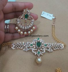 Diamond Armlet plus Choker and Chandbalis photo