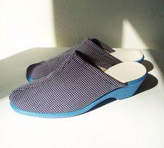 Soviet Blue Shoes Vintage  Size EU 36 US size 6 by MerilinsRetro
