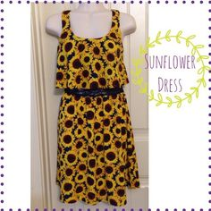 "Spotted while shopping on Poshmark: ""$15 only! Host PickSunflower Dress""! #poshmark #fashion #shopping #style #Dresses"